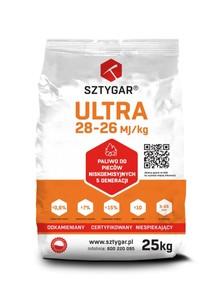 1 tona/1000 kg   <br>   EKOGROSZEK ULTRA <br>     WĘGIEL SZTYGAR <br>    28-27 MJ/kg